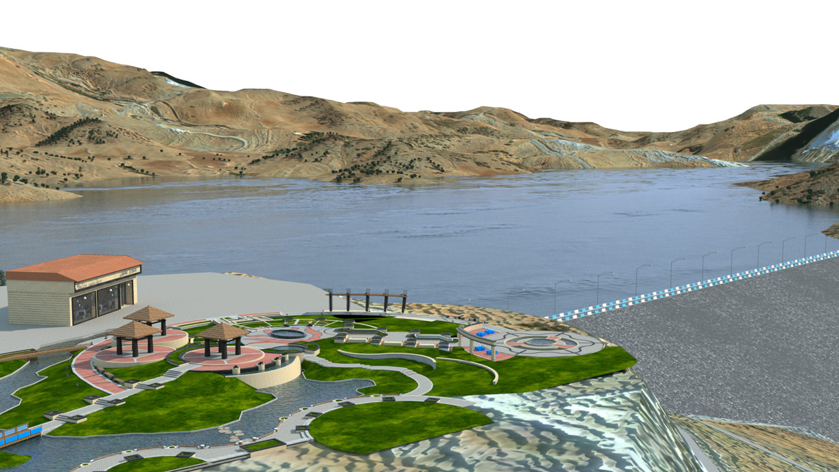 Designing Tourist Coastal Village around Garan Dam