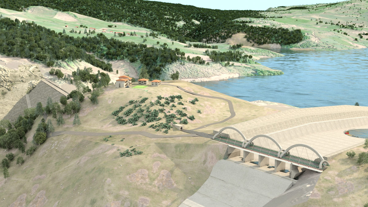 Gelevard Dam's Recreational Park Development Plan