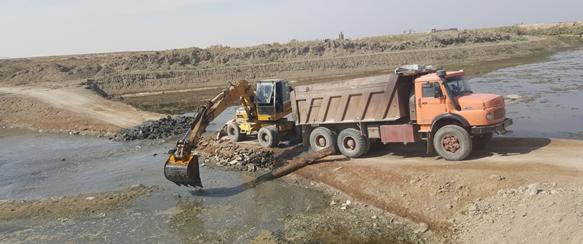 حفاظت از رودخانه زاینده رود حدفاصل چم طاق تا تالاب گاوخونی